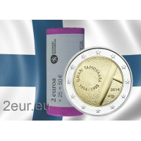 FINLAND 2 EURO 2014 - ILMARI TAPIOVAARA roll