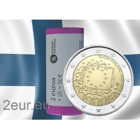 FINLAND 2 EURO 2015 - 30 YEARS OF THE EU FLAG