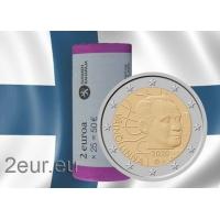 FINLAND 2 EURO 2020 - 100TH ANNIVERSARY OF THE BIRTH OF VÄINÖ LINNA roll