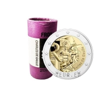 FRANCE 2 EURO 2020 - 50TH ANNIVERSARY OF THE DEATH OF CHARLES DE GAULLE roll