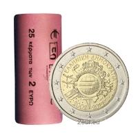 GREECE 2 EURO 2012 - 10 YEARS OF EURO