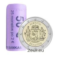 LITHUANIA 2 EURO 2019 - ZEMAITIJA roll