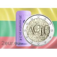 LITHUANIA 2 EURO 2015 - ACIU: LITHUANIAN LANGUAGE