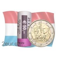 LUXEMBOURG 2 EURO 2018 - GRAND DUKE GUILLAUME Ir