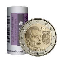 LUXEMBOURG 2 EURO 2010 - ARMS OF THE GRAND DUKEr