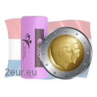 NETHERLANDS 2 EURO 2014 - 200TH ANNIVERSARY OF THE KINGDOM OF THE NETHERLANDSr
