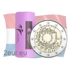 NETHERLANDS 2 EURO 2015 - 30 YEARS OF THE EU FLAGr