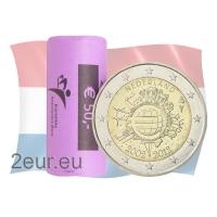 NETHERLANDS 2 EURO 2012 - 10 YEARS OF EUROr