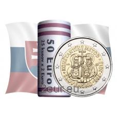 SLOVAKIA 2 EURO 2013 - SAINTS CYRIL AND METHODIUS -ROLL