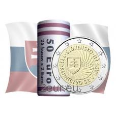 SLOVAKIA 2 EURO 2016 - SLOVAK PRESIDENCY OF THE COUNCIL OF THE EU - ROLL