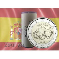 SPAIN 2 EURO 2015 - THE CAVE OF ALTAMIRA r