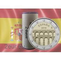 SPAIN 2 EURO 2016 - AQUEDUCT OF SEGOVIA r