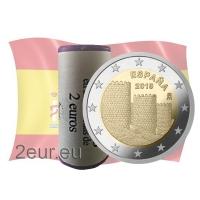 SPAIN 2 EURO 2019 - AVILA OLD TOWNr