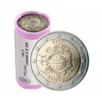 ESTONIA 2 EURO 2012 - TEN YEARS OF EURO