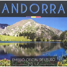ANDORRA 2017 - EURO COIN SET(BU)
