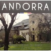 ANDORRA 2019 - EURO COIN SET(BU)