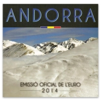 ANDORRA 2014 - EURO COIN SET