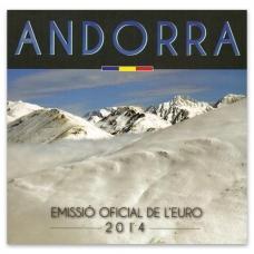ANDORRA 2014 - EURO COIN SET