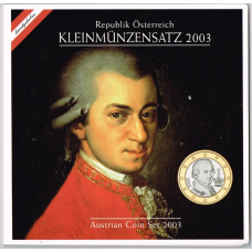 AUSTRIA 2003 - EURO COIN SET