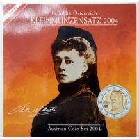 AUSTRIA 2004 - EURO COIN SET