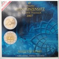 AUSTRIA 2007 - EURO COIN SET