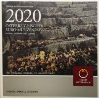 AUSTRIA 2020 - EURO COIN SET - RAISE HANDS
