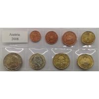 AUSTRIA 2008 - EURO COIN SET