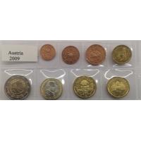AUSTRIA 2009 - EURO COIN SET