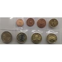 AUSTRIA 2020 - EURO COIN SET - UNC
