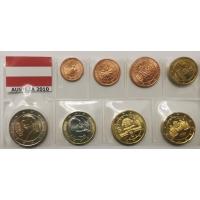 AUSTRIA 2010 - EURO COIN SET