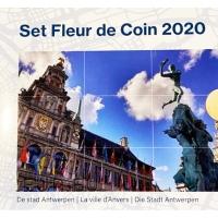 BELGIUM 2020 - EURO COIN SET -CITY OF ANTWERPEN