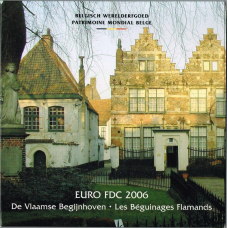 BELGIUM 2006 - EURO COIN SET - FLEMISH WALKS