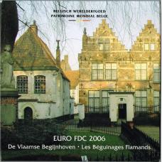 BELGIUM 2006 - EURO COIN SET - FLEMISH WALKS
