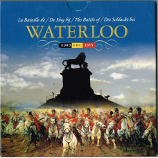 BELGIUM 2015 - EURO COIN SET -  BATTLE OF WATERLOO