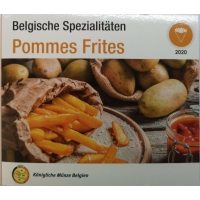 BELGIUM 2020 - EURO SET BU - WORLD MONEY FAIR - BERLIN - POMMES FRITES