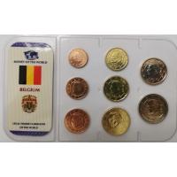 BELGIUM MIX - EURO COIN SET