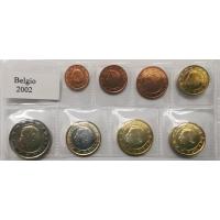 BELGIUM 2002- EURO COIN SET