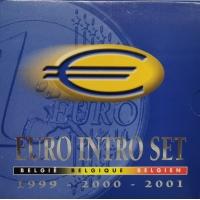 BELGIUM 1999- 2000-2001 - Euro Intro Set