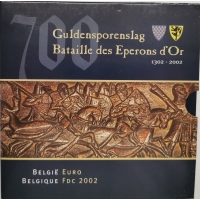 BELGIUM 2003 - EURO COIN SET - 700 years The Battle of the golden Spurs