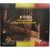 BELGIUM 2008 - EURO COIN SET - Dag van de Munt
