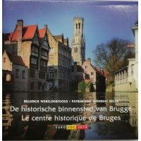 BELGIUM 2010 - EURO COIN SET - Historic city centre of Bruges