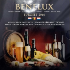 BENELUX 2016 - EURO COIN SET BU