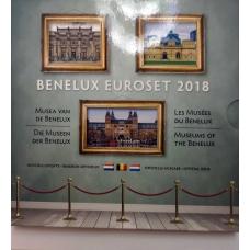 BENELUX 2018 - EURO COIN SET BU