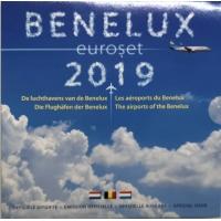 BENELUX 2019 - EURO COIN SET BU
