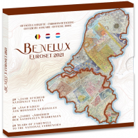BENELUX 2021 - EURO COIN SET BU