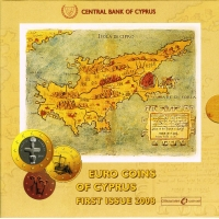 CYPRUS 2008 - EURO SET - FIRST ISSUE