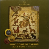 CYPRUS 2012 - EURO SET - BU