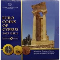 CYPRUS 2015 - EURO SET - BU