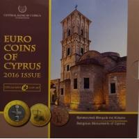 CYPRUS 2016 - EURO SET - BU