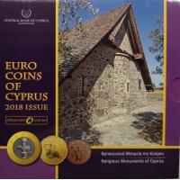 CYPRUS 2018 - EURO SET - BU